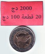 Algérie - Cheval - Horse - Pièce Bimetallique 100.00 DA  Bimillésime  2017-1438 Neuve Issue De Rouleau . - Algeria
