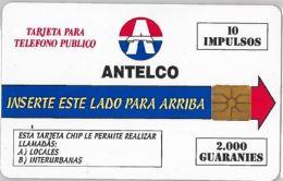 PHONE CARD PARAGUAY (E10.15.4 - Paraguay
