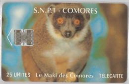 PHONE CARD COMORES (E10.18.7 - Comoros