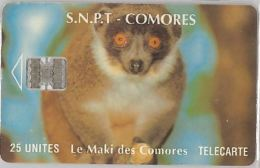 PHONE CARD COMORES (E10.18.8 - Comoros