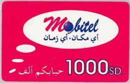 PREPAID PHONE CARD SUDAN (E10.28.7 - Soudan