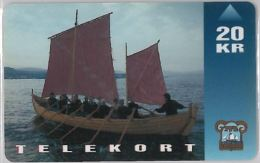 PHONE CARD FAER OER (E11.2.7 - Faroe Islands