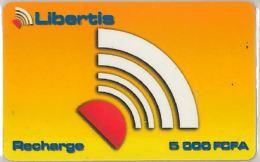 PREPAID PHONE CARD GABON (E11.3.2 - Gabon