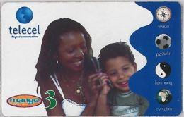 PREPAID PHONE CARD GABON (E11.3.3 - Gabon