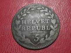 Suisse - République Helvetique - 1/2 Batzen 1799 2725 - Suiza