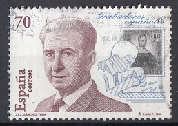 Spagna 1998 Sc. 2948 Grabadores J.l.L. Sanchez Toda - Used - Stamp Engravers Spain Espana - 1931-Oggi: 2. Rep. - ... Juan Carlos I