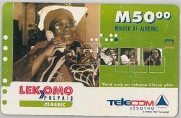 PREPAID PHONE CARD LESOTHO (E11.10.2 - Lesotho