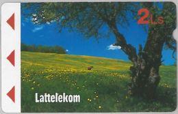 PREPAID PHONE CARD LETTONIA (E11.12.8 - Latvia