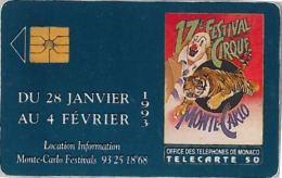 PHONE CARD MONACO (E11.20.7 - Monaco