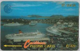 PHONE CARD ST.LUCIA (E11.22.1 - Santa Lucía