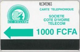 PHONE CARD COSTA D'AVORIO (E11.22.7 - Ivory Coast