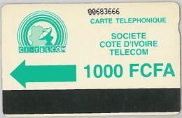 PHONE CARD COSTA D'AVORIO (E11.22.8 - Ivory Coast