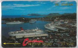 PHONE CARD ST.LUCIA (E11.23.1 - Saint Lucia