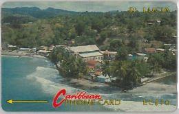 PHONE CARD ST.LUCIA (E11.23.2 - Saint Lucia