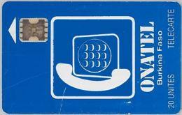 PHONE CARD BURKINA FASO - Not Perfected (E12.1.6 - Burkina Faso