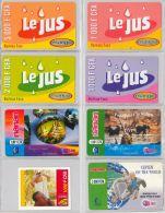 LOT OF 8 PREPAID PHONE CARD BURKINA FASO (E12.4.1 - Burkina Faso