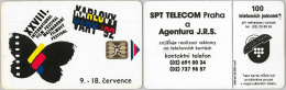 PHONE CARD CECOSLOVACCHIA (E12.15.5 - Czechoslovakia
