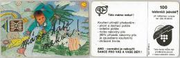 PHONE CARD CECOSLOVACCHIA (E12.15.6 - Czechoslovakia