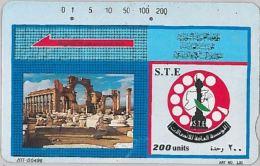 PHONE CARD SIRIA (E12.25.4 - Syria