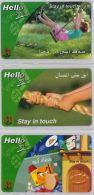 LOT 3 PREPAID PHONE CARD  SIRIA (E12.27.2 - Syria