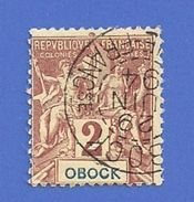 OBOCK 33 OBLITERE - Obock (1892-1899)