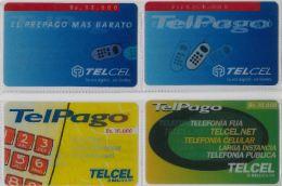 LOT 4 PREPAID PHONE CARD VENEZUELA (E13.23.5 - Venezuela