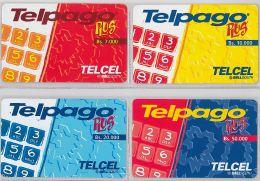 LOT 4 PREPAID PHONE CARD VENEZUELA (E13.24.1 - Venezuela