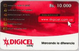 PREPAID PHONE CARD VENEZUELA (E13.26.7 - Venezuela
