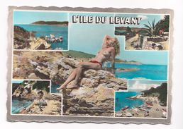 île Du Levant  (cité Naturiste) Naturistes - Héliopolis.Souvenir - France