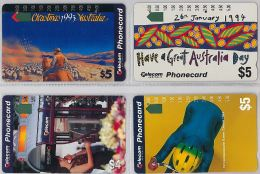 LOT 4 PHONE CARD AUSTRALIA (E14.5.5 - Australia