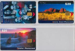 LOT 3 PHONE CARD AUSTRALIA (E14.10.1 - Australia