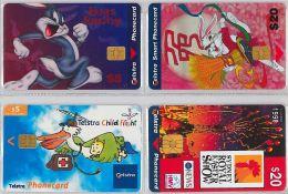 LOT 4 PHONE CARD AUSTRALIA (E14.10.5 - Australia