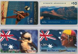 LOT 4 PREPAID PHONE CARD AUSTRALIA (E14.11.1 - Australia