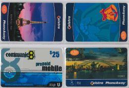 LOT 4 PREPAID PHONE CARD AUSTRALIA (E14.11.5 - Australia