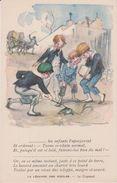Illustateur  : La Légende Des Siècles : Le  Crapaud Avec Les  Enfants - Künstlerkarten