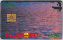 PHONE CARD PERU' (E14.15.4 - Peru