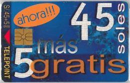 PHONE CARD PERU' (E14.17.5 - Pérou