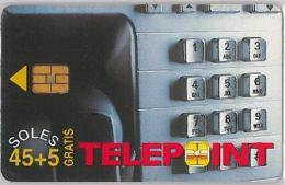 PHONE CARD PERU' (E14.17.6 - Pérou