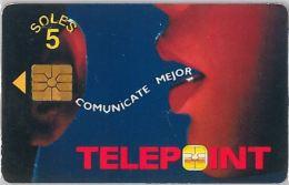 PHONE CARD PERU' (E14.17.7 - Pérou