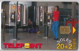 PHONE CARD PERU' (E14.18.1 - Peru