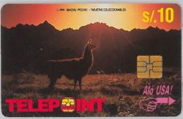 PHONE CARD PERU' (E14.19.7 - Peru