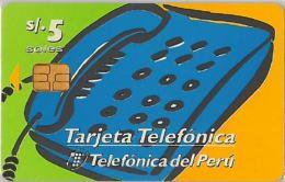 PHONE CARD PERU' (E14.21.3 - Peru