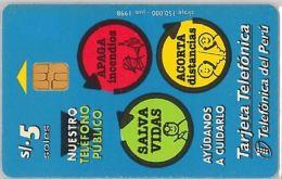 PHONE CARD PERU' (E14.21.4 - Peru