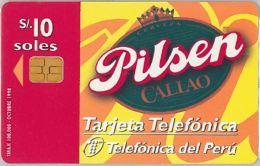 PHONE CARD PERU' (E14.21.7 - Peru