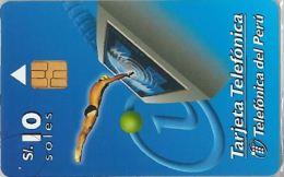 PHONE CARD PERU' (E14.21.8 - Peru
