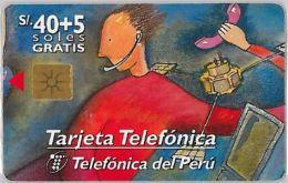 PHONE CARD PERU' (E14.22.4 - Peru