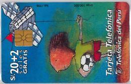 PHONE CARD PERU' (E14.22.3 - Peru