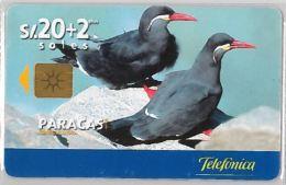 PHONE CARD PERU' (E14.23.1 - Peru