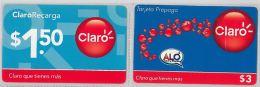 LOT 2 PREPAID PHONE CARD PERU' (E14.25.1 - Peru