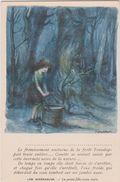 Illustateur  : La Légende Des Siècles :les  Misérables ,la Petite  Fille  Toute  Seule - Künstlerkarten